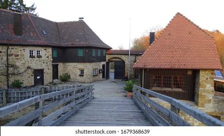 Castle Hohenrechberg, LKr. Ostalb, BaWü, Germany