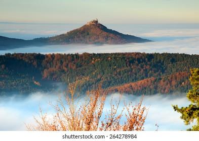 castle; Hohenzollern; Germany