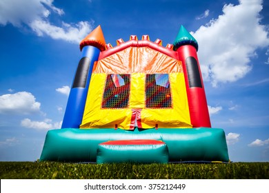 Castle inflatable bounce house