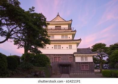 Castle in the Japanese Hirado
