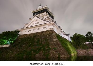 Castle in the Japanese Kokura