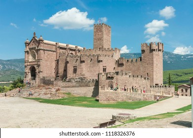 Castle of Javier. Navarra, Spain