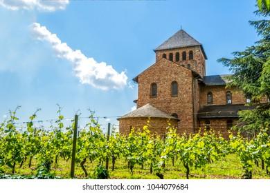 Castle, Johannisberg, Rheingau, Germany