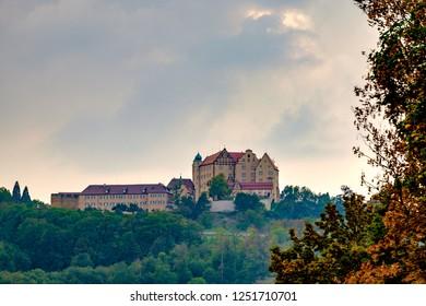Castle Kapfenburg in Lauchheim in Germany