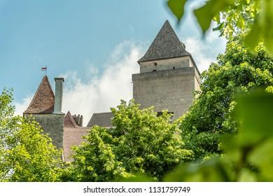 The castle keep of medieval castle Heidenreichstein