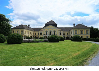 Castle in Kittsee in Austria