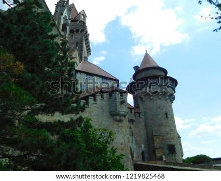 Castle Kreuzenstein Leobendorf Austria 2018 Stock Photo Edit Now