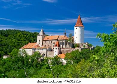 Castle Krivoklat, Czech Republic