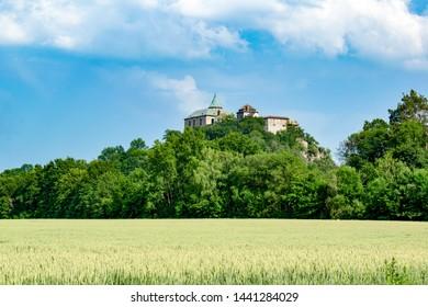 The castle of Kuneticka Hora near Pardubice,  Czechia - Shutterstock ID 1441284029