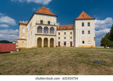 Castle Letovice in Czech Republic