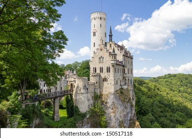 Castle Lichtenstein in Germany