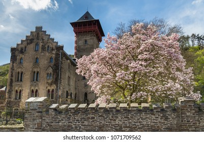 Castle Liebieg Gondorf on the Moselle.
