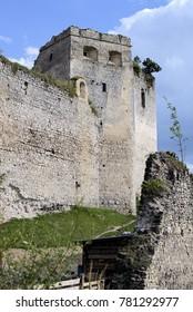 Castle Lietava near Zilina town in Slovakia
