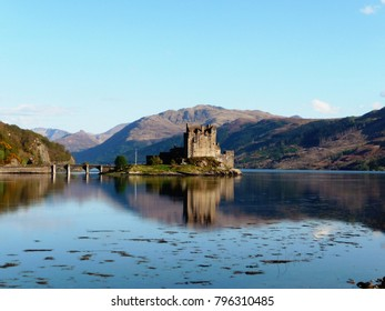 The castle and the loch - Scotland