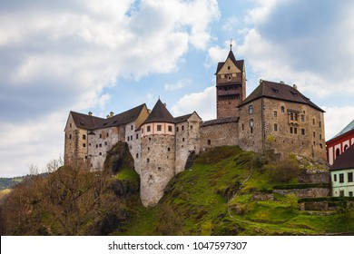 Castle Loket in Czech Republic - travel and architecture awesome destination