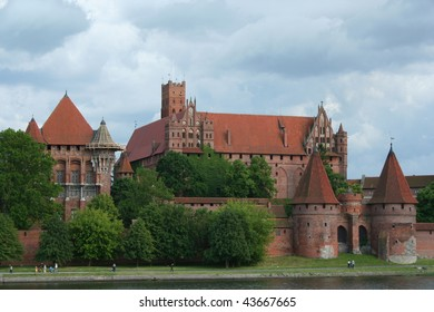 The Castle Malbork in Poland