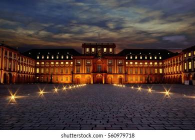 Castle Mannheim  University Mannheim