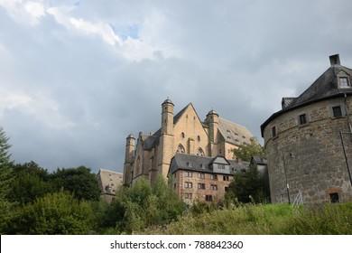 Castle in Marburg, Germany