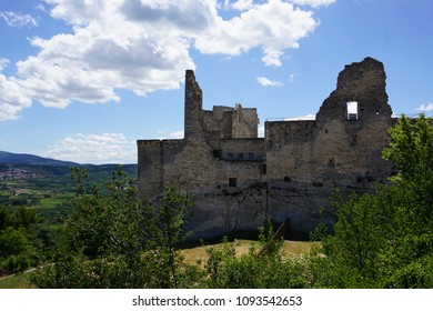 Castle of Marquis de Sade in Lacoste, Provence, France