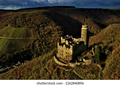 Castle Maus in Germany from above