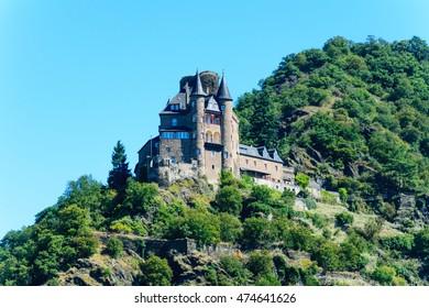 Castle Maus in St. Goar rhine valley