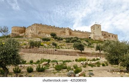castle in Medellin, Badajoz Province, Extremadura, Spain