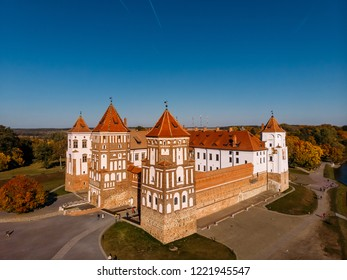 Castle Mir complex historical and cultural monument of Belarus