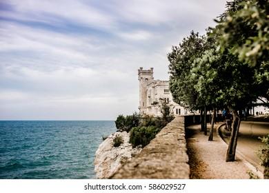 castle miramare of trieste italy