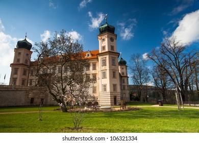 Castle in Mnisek pod Brdy