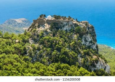 Castle of Monolithos, Rhodes island, Greece