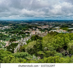 The Castle of the Moors, Castelo dos Mouros, is a hilltop medieval castle in Sintra, Portugal