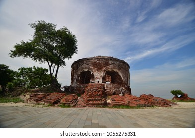 The Castle of Mortello, built by the Dutch in 17th century at Thousand Island, Jakarta, Indonesia.