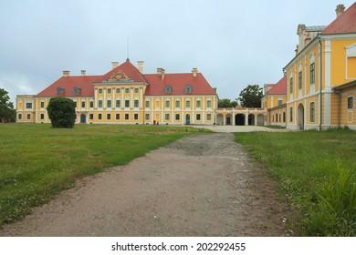 Castle and museum Eltz in Vukovar. Photo taken in June 26, 2014 in Vukovar, Croatia.