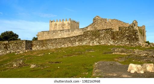 Castle in National Park of Peneda Geres, Portugal