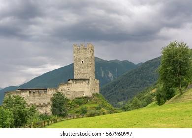 Castle near Burgeis, Italy