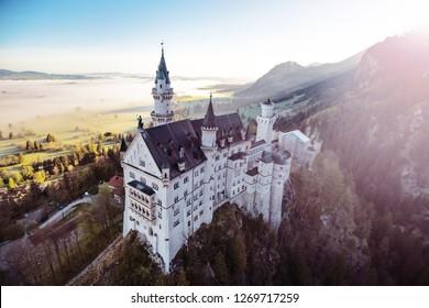 Castle Neuschwanstein in Bayern