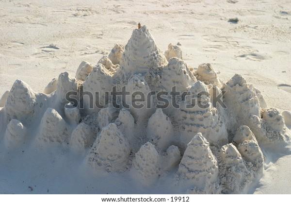 Castle on the Beach