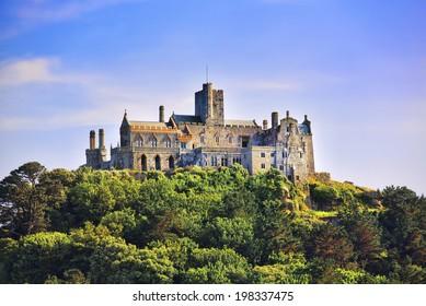 Castle on a Cornish Island