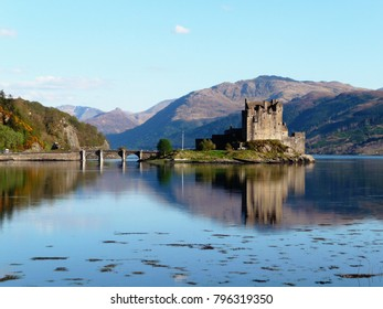 Castle on the loch, Scotland