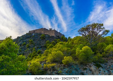 The castle is on the peninsula of Assos in Cephalonia island in Greece. Is one of the largest castles in Greece and its construction, in late-16th century, was an ambitious project by the Venetians