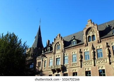 Castle of Paffendorf near Cologne, Germany in spring
