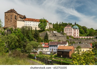 castle and pallace Becov nad Teplou in Czech republic