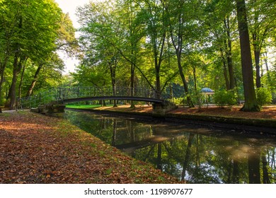 The castle park in Bayreuth/Germany