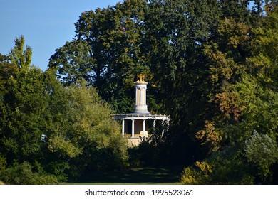 Castle and Park Glienicke in Autumn, Wannsee, Zehlendorf, Berlin