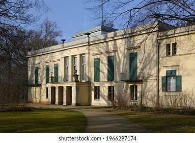 Castle and Park Glienicke in Spring, Wannsee, Zehlendorf, Berlin