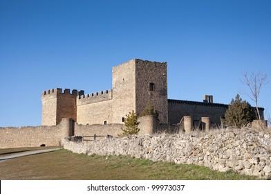Castle of Pedraza, Segovia, Spain. It was built on XIII century