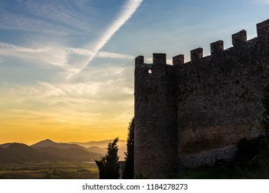 Castle of Pereto in Abruzzo, Italy