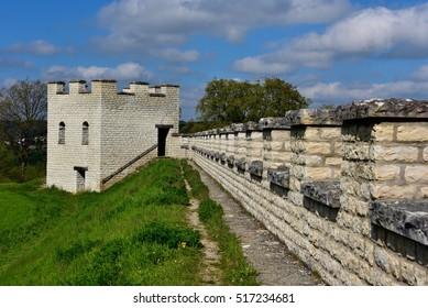 Castle in Pfuenz near Eichstaett