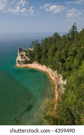 Miner's Castle in Pictured Rocks National Lakeshore