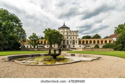 Castle Ploskovice in Czech republic
